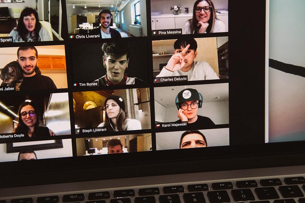 Zoom online class virtual classroom