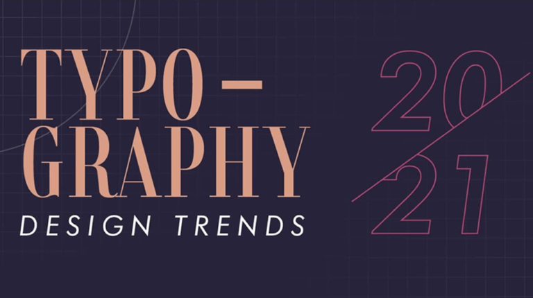 Typography Design and style Traits for 2021