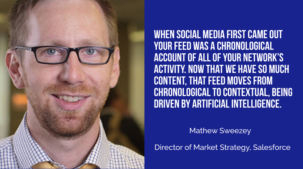 Mathew Sweezey of Salesforce: When the Media Environment Changes, the Definition of Marketing Must Change with It
