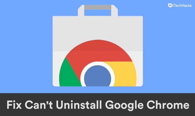 5 Rapid Fixes Can not Uninstall Google Chrome On Home windows 11