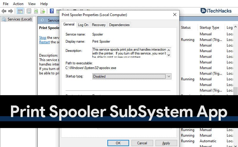 4 Quick Fixes Print Spooler SubSystem App High CPU Usage